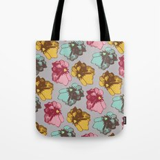 Photographic Florals Tote Bag