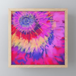 Purple Flare Framed Mini Art Print