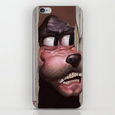 Heeere's Goofy! iPhone & iPod Skin