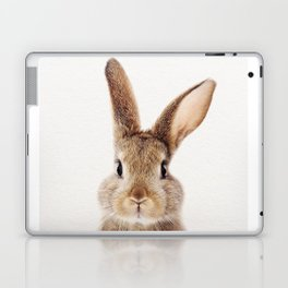 Baby Rabbit, Baby Animals Art Print By Synplus Laptop & iPad Skin