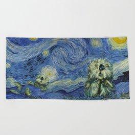 Starry Monterey Night (for Mikaela) Beach Towel