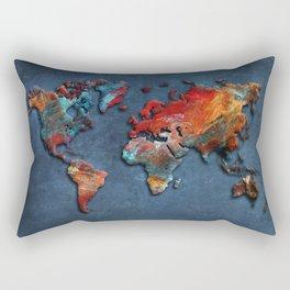 World Map 2020 Rectangular Pillow