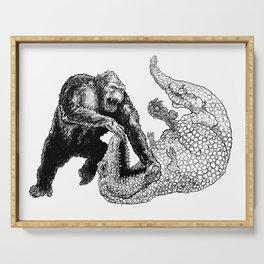 Ape v Dino Serving Tray