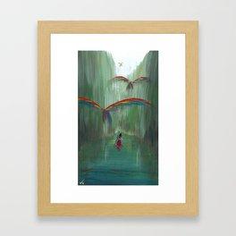 Wild Birds #1 Framed Art Print