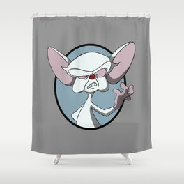 Try to Take Over the World Shower Curtain