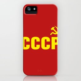 CCCP Hammer Sickle iPhone Case