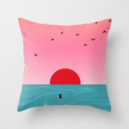 Tempus fugit Throw Pillow