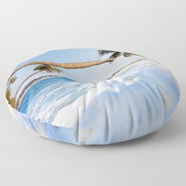 Summer Is My Lover I Wait Every Year Floor Pillow