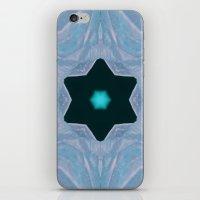 frozen iPhone & iPod Skins featuring Frozen by Deborah Janke