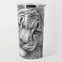 Snow Leopard Cub G105 Travel Mug