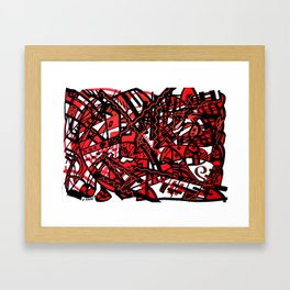 Abstract 19 Framed Art Print
