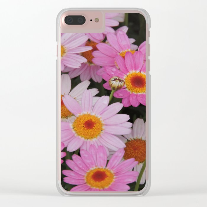 Petals, Petals, Petals Clear iPhone Case