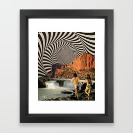 Eden (3/3) Framed Art Print