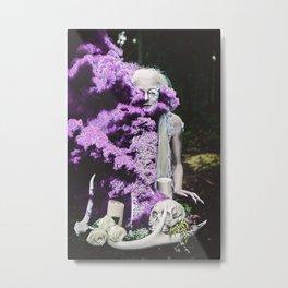 Vampire Flower (Edit 3) Metal Print