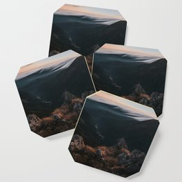 Evening Mood - Landscape and Nature Photography Coaster