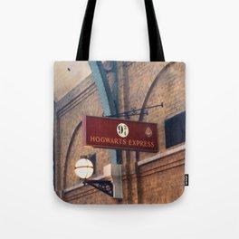 Hogwarts Express 9&3/4 Tote Bag