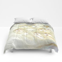 Shimmery Pearly Abalone Shell Comforters