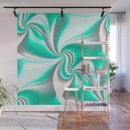 Turn Around (green) Wall Mural