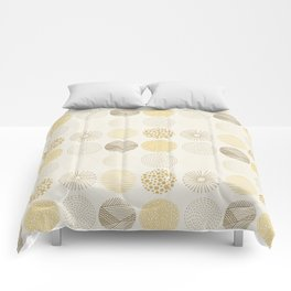 Decorative Pattern in Brown and Beige Comforters