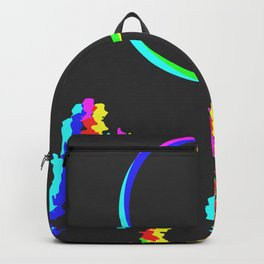 CMYK in RGB Moon in Forest Backpack