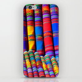 colorful patterns iPhone Skin