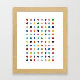 DAMIEN TRIBUTE Framed Art Print