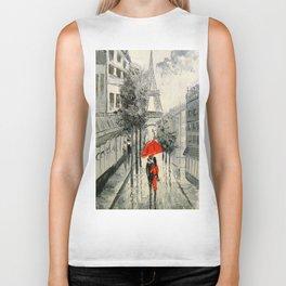 Paris Paris Biker Tank