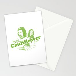 Cauliflower | Green Stationery Cards