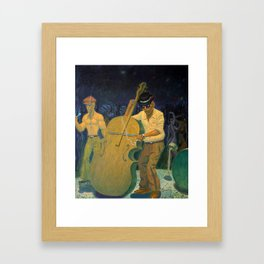 """""""After Hours Party"""" Framed Art Print"""
