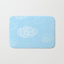 A cloudy sky Bath Mat