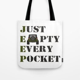 Jeep - Just Empty Every Pocket Tote Bag