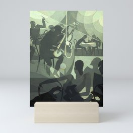 Charleston - Aaron Douglas Mini Art Print