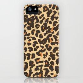 Just Leopard iPhone Case