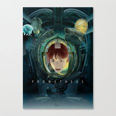 PROMETHEUS vector Canvas Print
