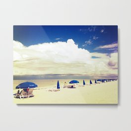 Beach horizon Metal Print