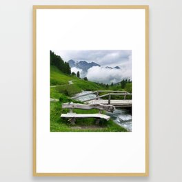 GREEN ART Framed Art Print