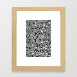 Superhuman Creatures Framed Art Print