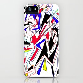 Lines of Mind iPhone Case