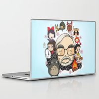 miyazaki Laptop & iPad Skins featuring Ghibli, Hayao Miyazaki and friends by KickPunch