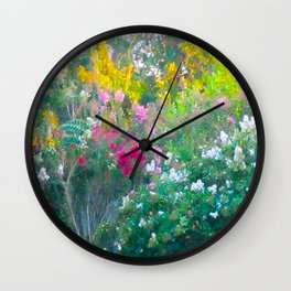 MULBERRY TREES Wall Clock