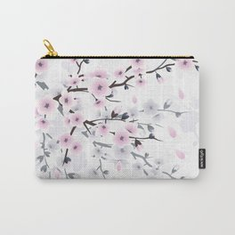 Pastel Cherry Blossom Carry-All Pouch