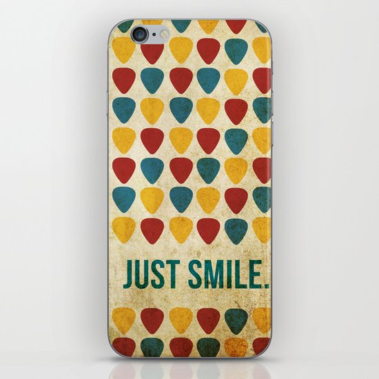 Just Smile. iPhone & iPod Skin