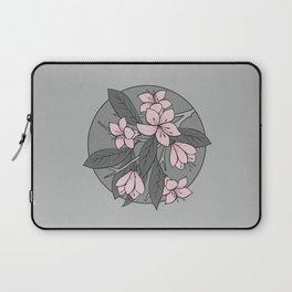 Sakura Branch - Ballet Slipper + Neutral Grey Laptop Sleeve