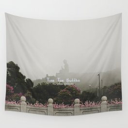 Hong Kong Tian Tan Buddha Wall Tapestry