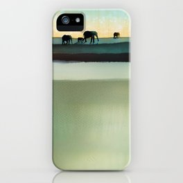 Gentle Journey iPhone Case