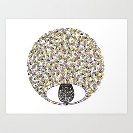 Flower Drop Art Print