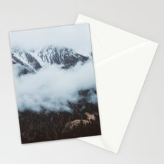 On a cloudy day Stationery Cards