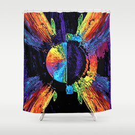 Axis Of Equals Shower Curtain