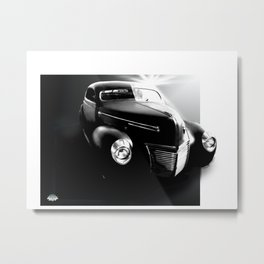 Chopped Metal Print