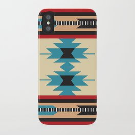 American Native Pattern No. 37 iPhone Case